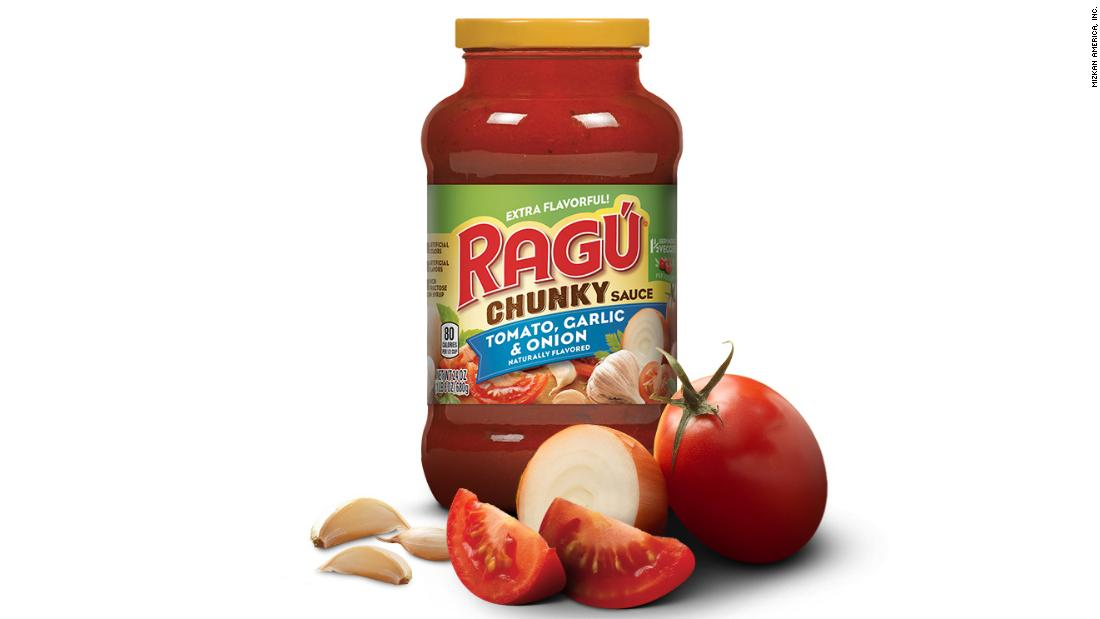 Some types of Ragu pasta sauce are being recalled because of concerns that they might be contaminated with plastic https://cnn.it/2JQNa41