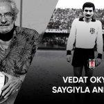 Image for the Tweet beginning: Efsane futbolcularımızdan Vedat Okyar'ı vefatının
