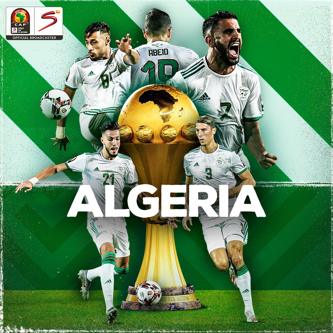 Having gone throughout the entire tournament unbeaten, #LesFennecs are champions of #AFCON2019<br>http://pic.twitter.com/4pCZ01r7oe