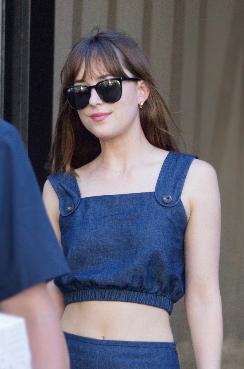 "3 years ago today, Dakota was seen at ""Merci"" Store in Paris, France (July 19, 2016) #DakotaJohnson<br>http://pic.twitter.com/y43tFJ0TR6"