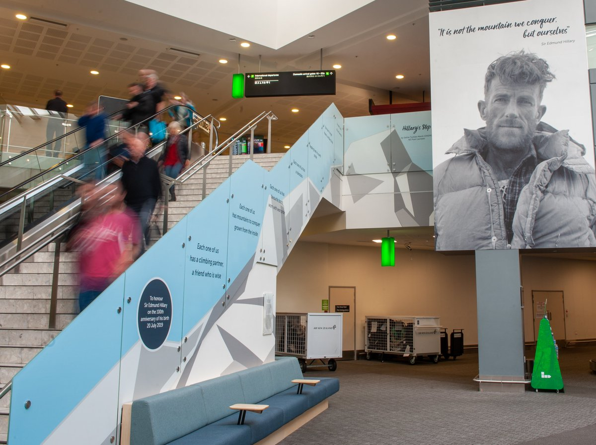 July 20 marks 100 years since the birth of Kiwi legend Sir Edmund Hillary. With words from NZ Poet Laureate Selina Tusitala Marsh, we have created our own Hillary Step - a permanent tribute to the mountaineer, adventurer and philanthropist.
