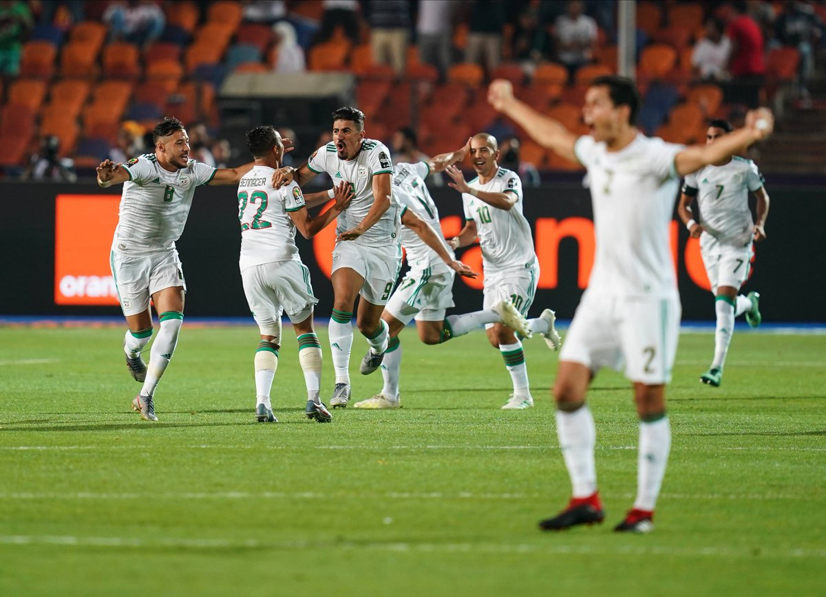 Algeria win their 2nd @CAF_Online Africa Cup of Nations trophy and first since 1990.   Their winning drought of 29 years is the biggest ever, surpassing the previous record of 27 years set by Egypt between 1959 & 1986.   #LesFennecs #AFCON2019<br>http://pic.twitter.com/SsIyu6hpfh