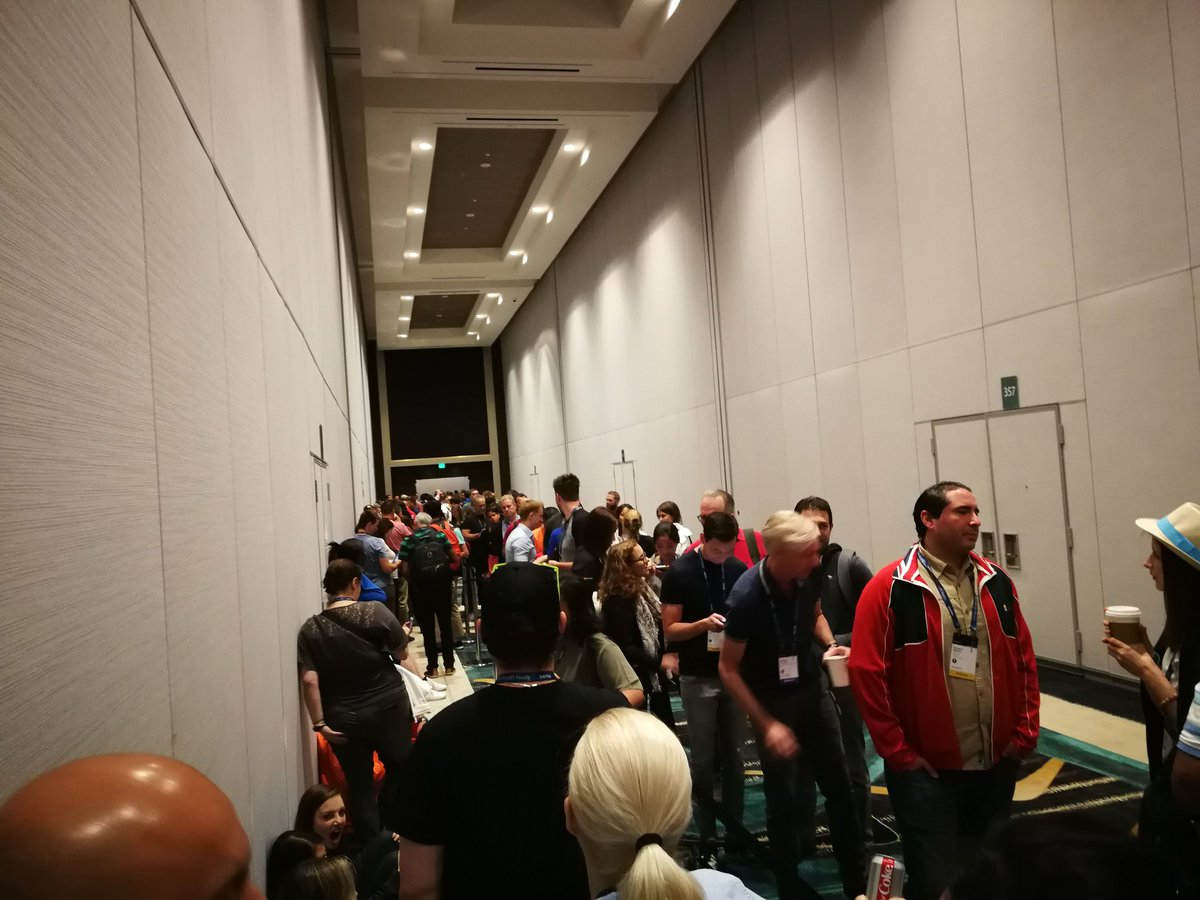 Queuing for @markrussinovich last session at #MSReady #Microsoft  – at MGM Grand Conference Center