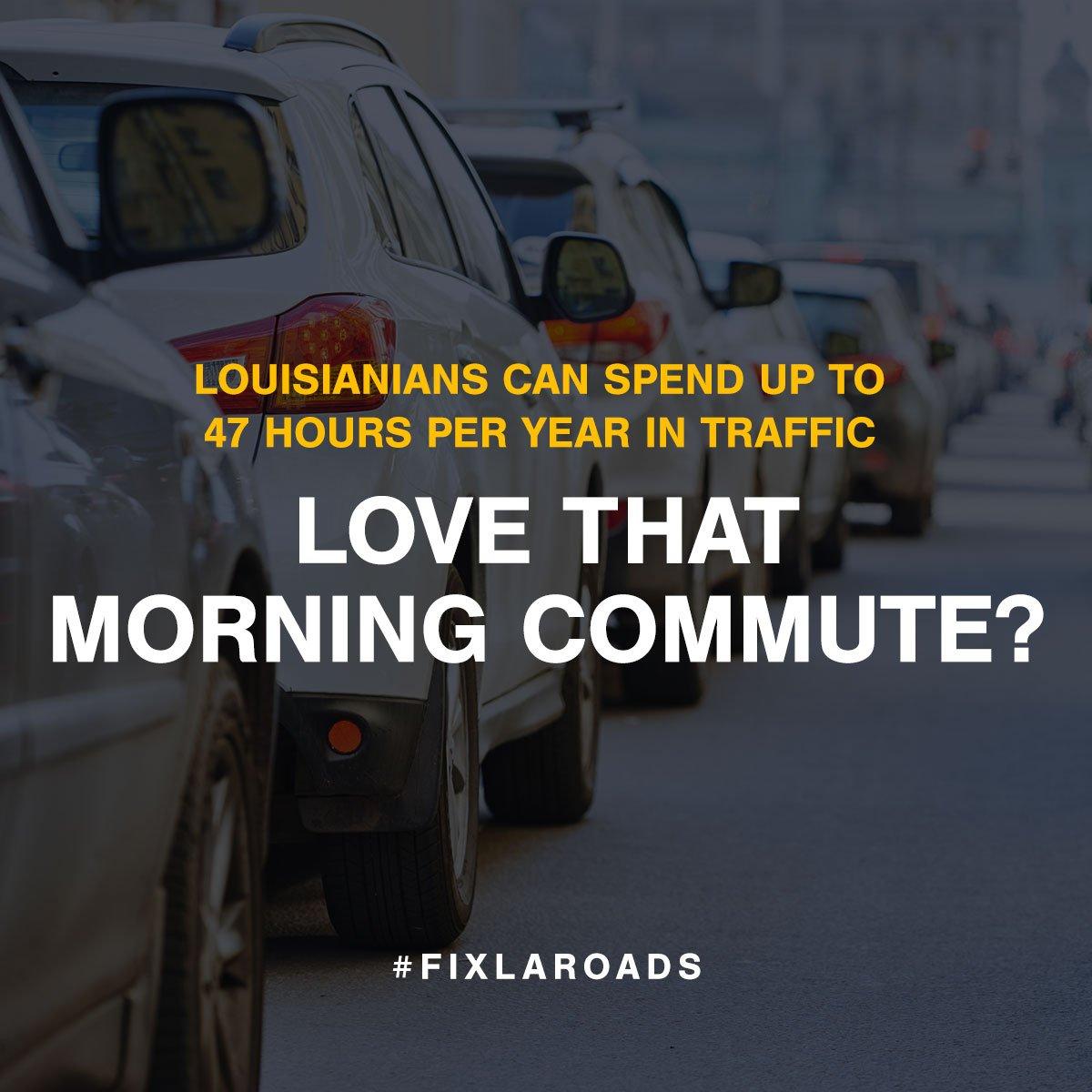 Louisiana Coalition To Fix Our Roads (@FixLARoads) | Twitter