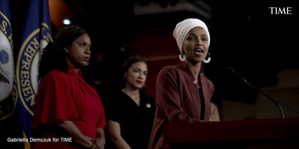 'I believe in my work.' How Rep. Ilhan Omar rose from refugee to Trump's top target mag.time.com/sQc9LUk