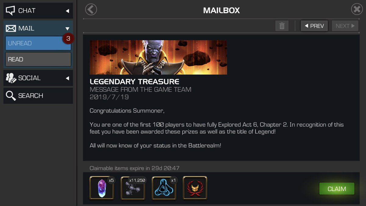 Mcoc Legend Run 2019