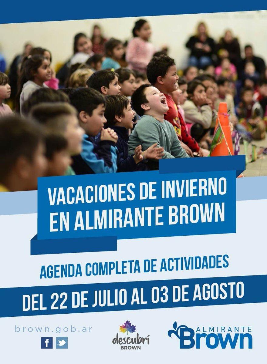 https://bit.ly/2GjOOdC El Municipio de Brown presentó una nutrida agenda de shows y actividades para vacaciones de invierno