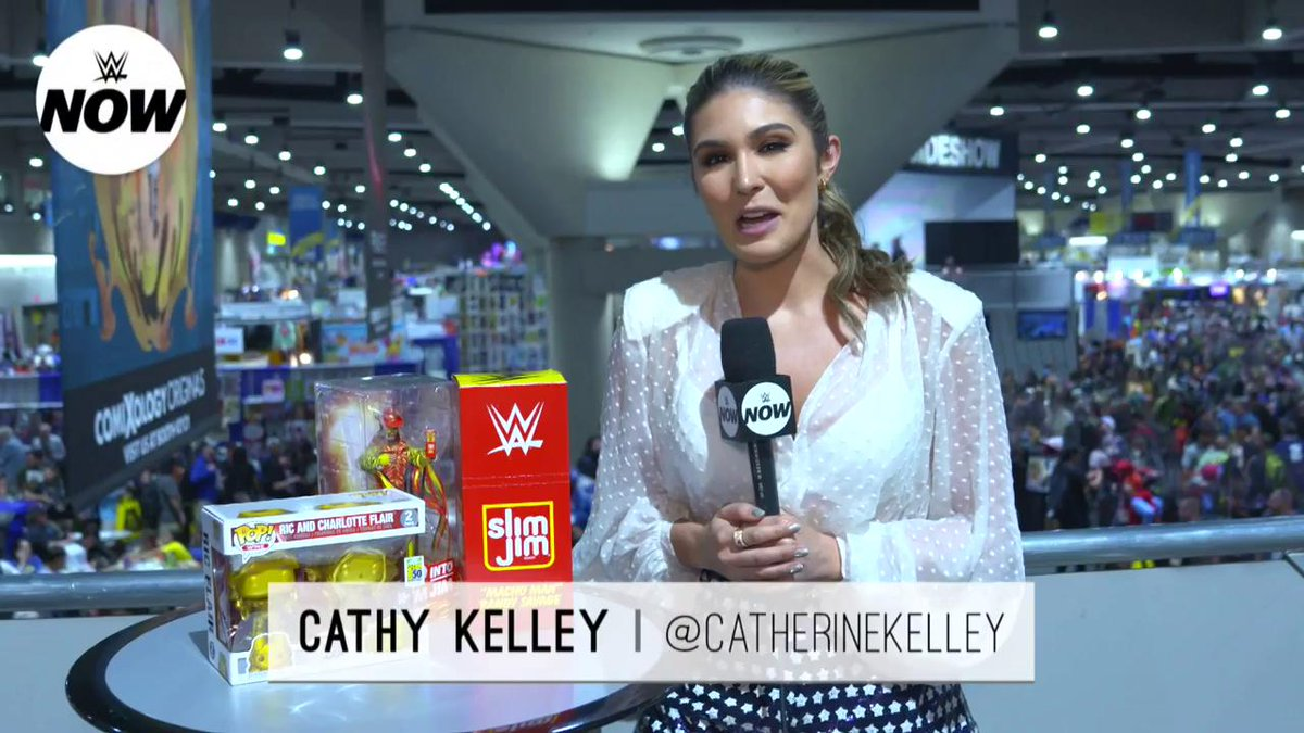 #TheMan @BeckyLynchWWE eyes the #247Title, @TrueKofi gets his hands on a new crossover figure, and SO MUCH MORE at #SDCC! #WWENow