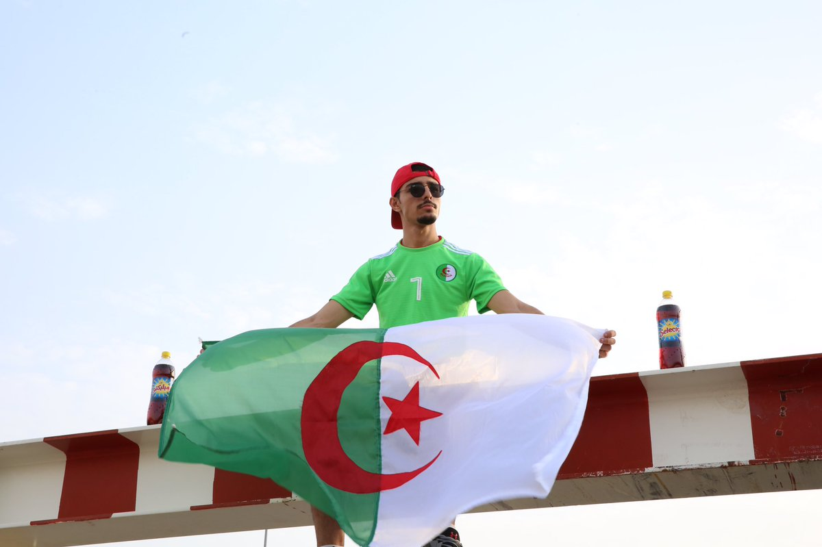 Kings of Africa  #Fennecs  @LesVerts  #123VivaLAlgerie⁠ ⁠  #CAN2019⁠ ⁠  #CAN2019EGYPT  #SENALG #الجزايز_السنغال<br>http://pic.twitter.com/9iRKZoPVs8