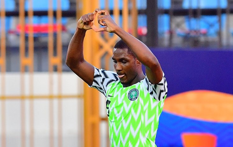 """@taofeekokoya: And @ighalojude wins the #TotalAFCON2019 Golden boot   Congratulations    #SoarSuperEagles  @Gidi_Traffic <br>http://pic.twitter.com/JQ9AVAfjvl"