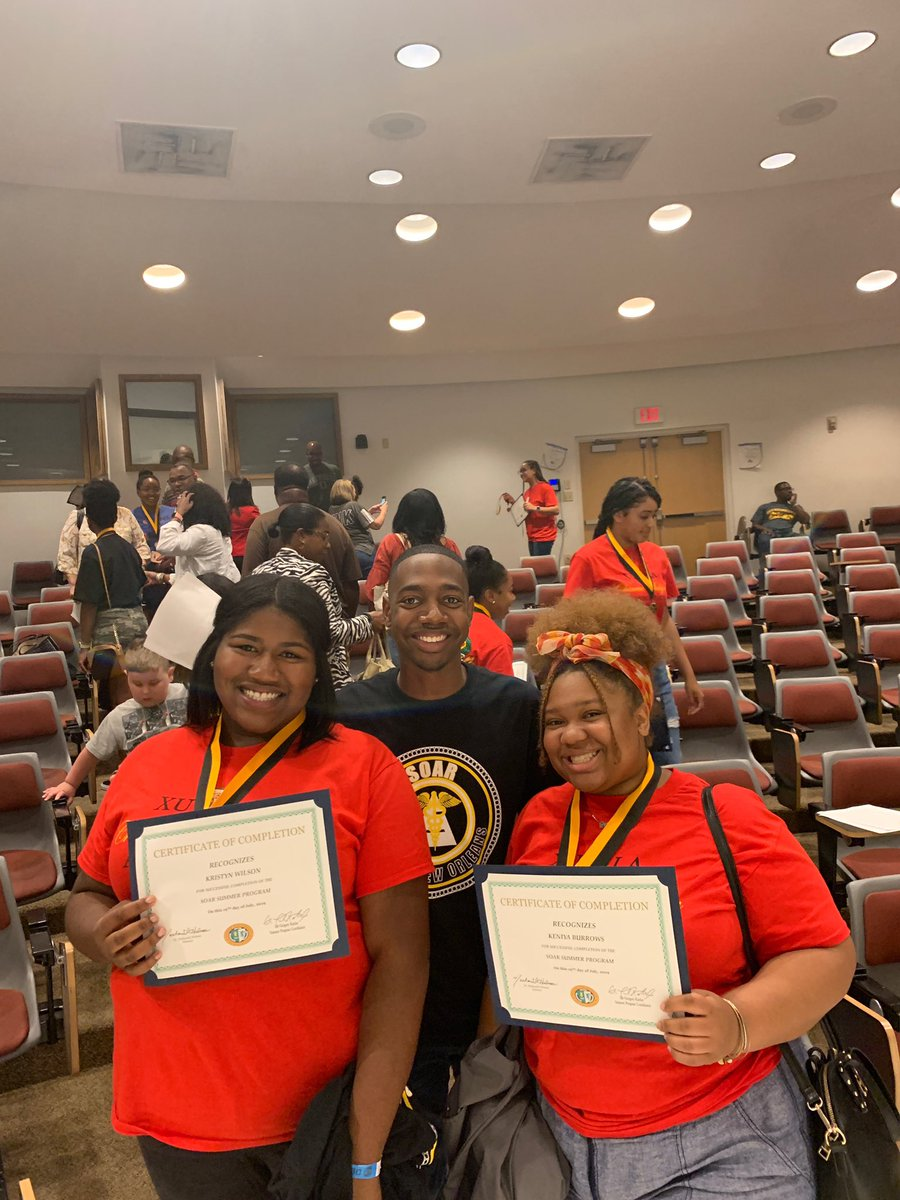I'm so grateful for the opportunity to work with and mentor these students. I never thought that I would work a program I attended. This was a great experience and I know all of these students will SOAR #SOAR2019<br>http://pic.twitter.com/pGURNgEmhs – à Xavier University Of Louisiana
