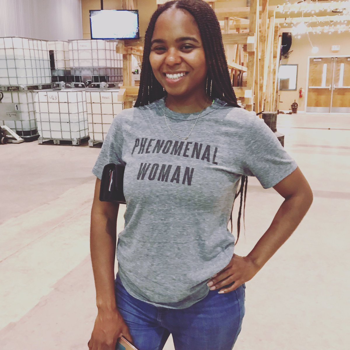 #love #her #tshirt !  Who's a #phenomenal #woman in your #life ? #elevatedmtn – at Elevated Mountain Distilling Company