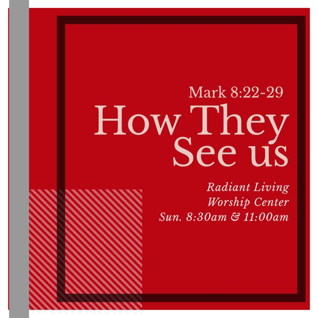 """Join us this Sunday as we dive deeper into our series: """"How They See Us"""" // It's going to be a powerful Sunday!! Bring someone with you!!! #RadiantLiving #CocoaStrong #HowTheySeeUs #ChurchOfGod #Pentecost"""