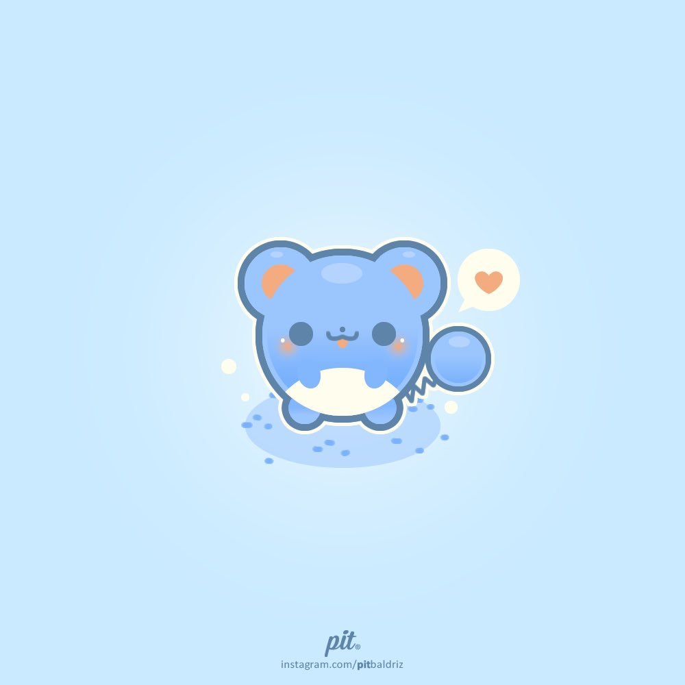 #Marill needs so much love, don't you think? #pokemon #vectorart <br>http://pic.twitter.com/lRiQn2hhhw