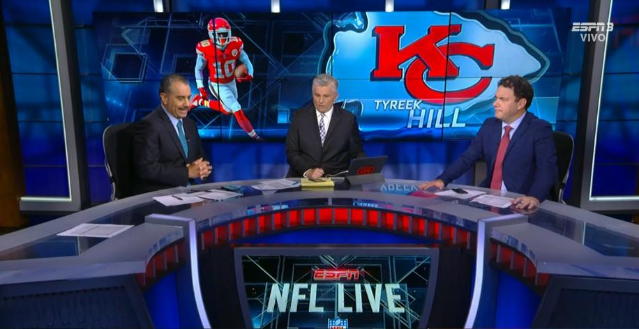 ¡Comenzamos NFL Live! 🏈@espnsutcliffe🏈@maicopasquel🏈@trejogaray 📺ESPN 3🔥 ¡EN VIVO!