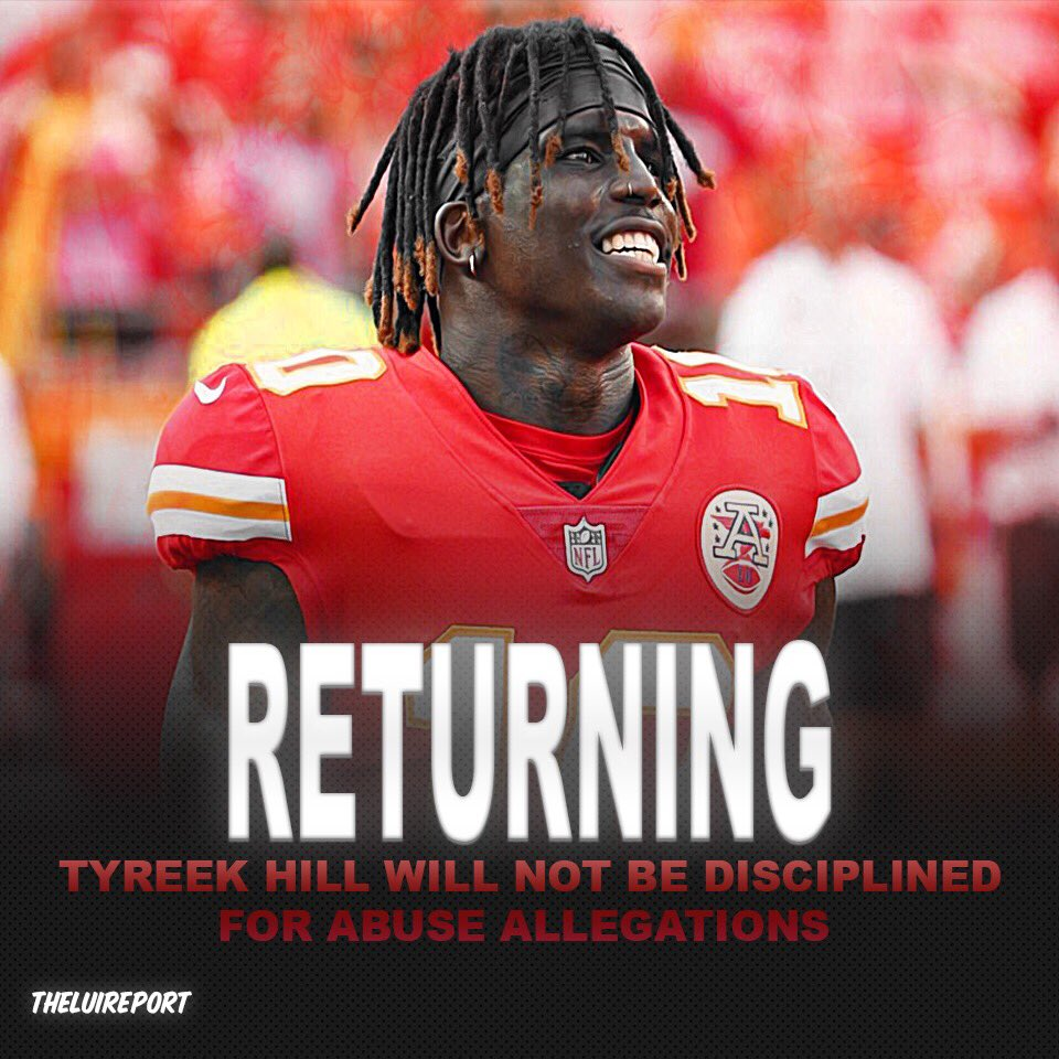 💭 Did the NFL make the right or wrong decision on Tyreek Hill? Do you think he should have been disciplined even if he didn't do it?   #nfl #nfloffseason #nflpreseason #tyreekhill #kansascitychiefs #chiefs #kansascity #football #sports #news #f4f