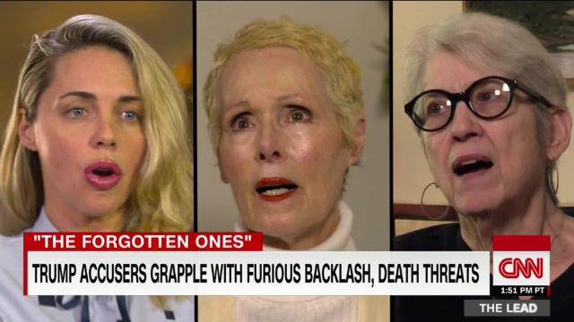 Trump accusers feel left behind by the #MeToo movement @mj_lee reports @TheLeadCNN cnn.it/2JEetQd