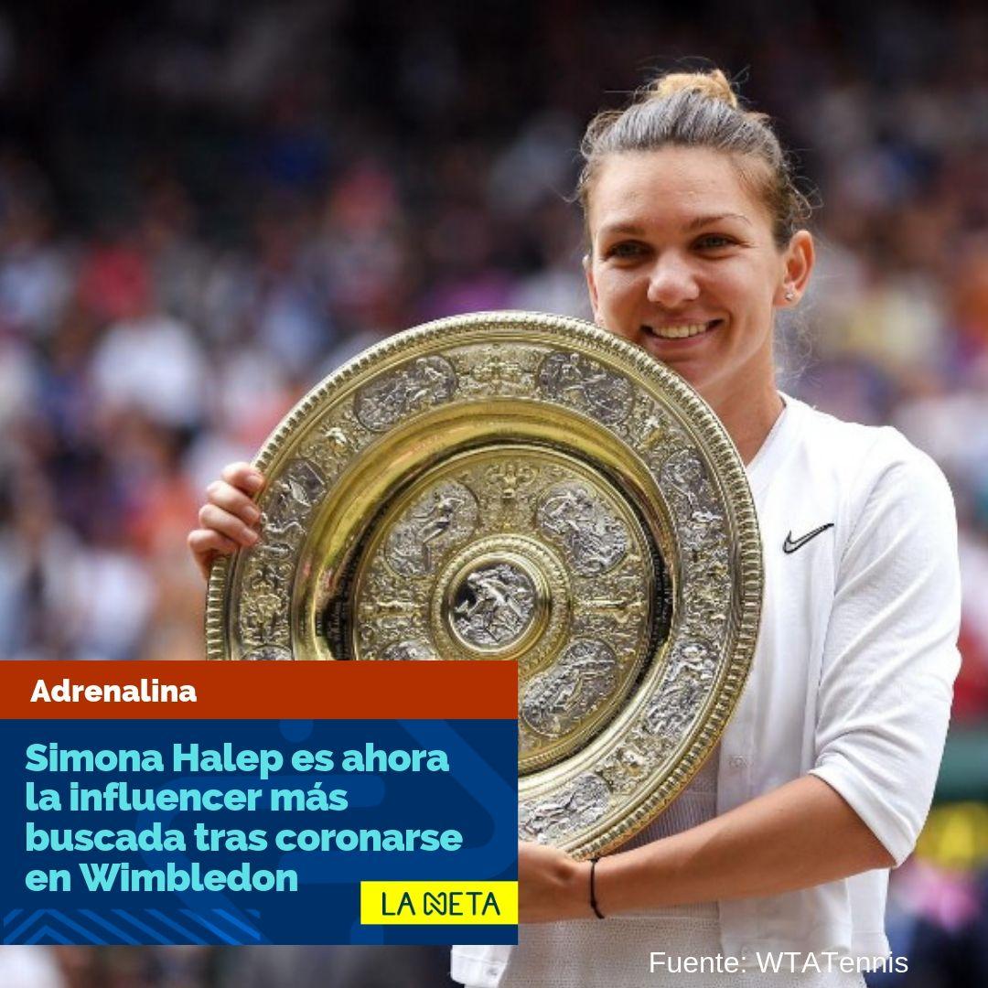 De Rumanía para el mundo http://ow.ly/dGad50v3nnW  ¡Imperdible! Visita nuestro canal 👉 Adrenalina . . . . . #tennis #simonahalep #wimbledon2019 #17Jul #FelizViernes @SimonaHalep