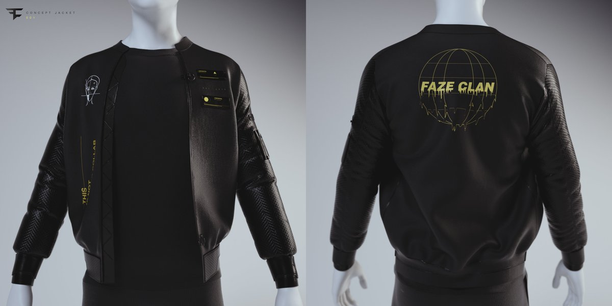 Concept Jacket for @FaZeClan  Art Direction + Design by me.<br>http://pic.twitter.com/srZdo4Nnbp
