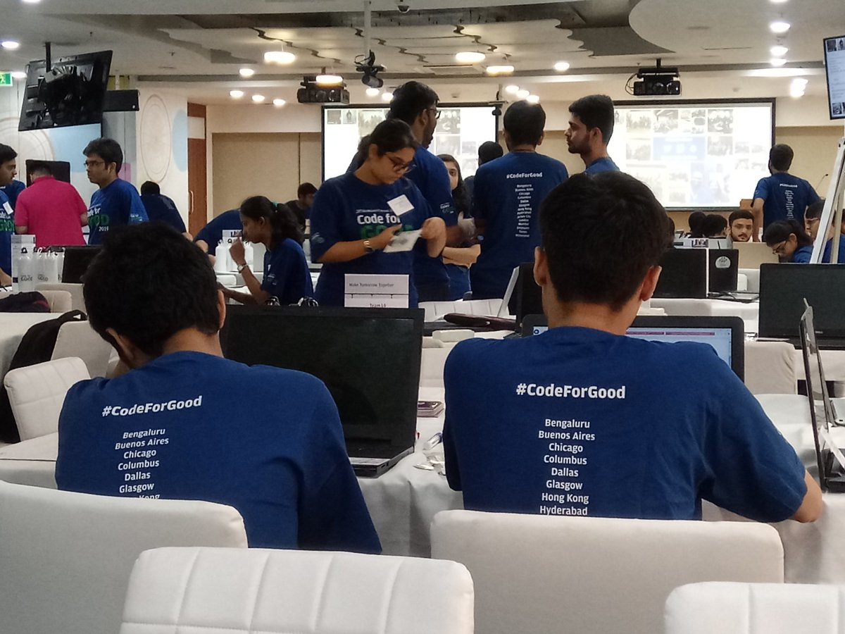 Inspired by the enthusiasm during #CodeforGood event.  Looking forward for a #technology solution for #aquaticlivelihood segment.  #Fisheries #aquaculture #Jpmorgan #Chase https://t.co/7Q2LQPWyFo