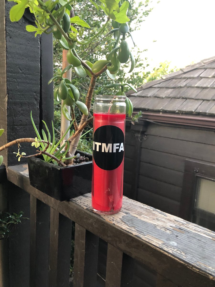 About to light up my #ITMFA candle ⁦@fakedansavage⁩<br>http://pic.twitter.com/AFWRzP0Wpn