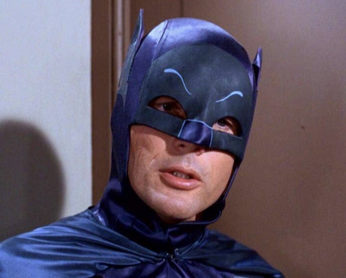 Who's Adam West? #ThingsStupidPeopleSay