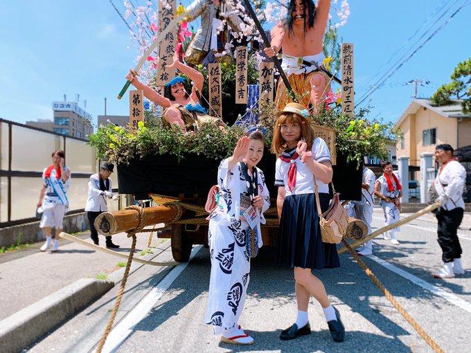 土崎神明社祭の曳山行事 hashtag on Twitter