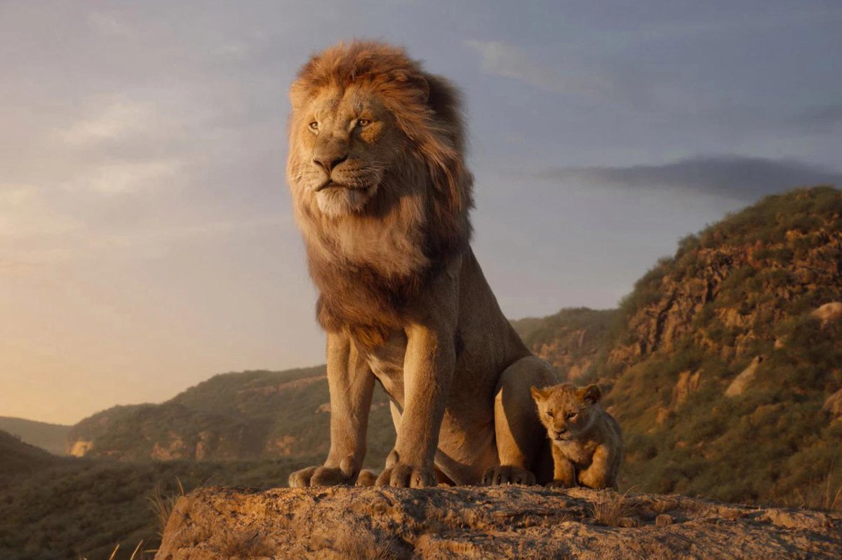 I saw #LionKing yesterday and I enjoyed it quite a bit. The songs were fun, the special effects were SPECTACULAR, and and most of the actors did a good job. Though, I do kind of wish that they did some more new things with it instead of just a near-total shot-for-shot remake.