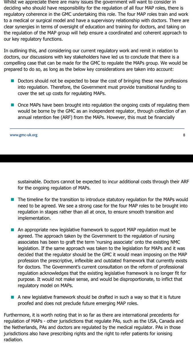 Gmc On Twitter We Are Pleased That The Four Uk Governments Have Decided That We Should Regulate Physician Associates Anaesthesia Associates Https T Co R50hp1agzg Https T Co Elji5mp8pw