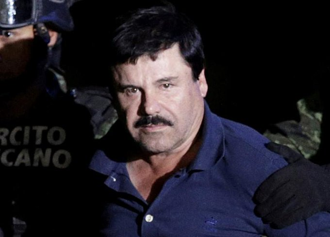 """#Joaquin #Guzman , the #Mexican drug lord known as """"El Chapo,"""" entered a Colorado prison known as """"the Alcatraz of the Rockies"""" on Friday to begin a life sentence after being found guilty of a raft of crimes including conspiracy to commit murder."""