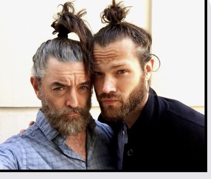 Happy Birthday, to my beautiful man Bun Buddy,⁦@jarpad⁩ love you, my friend #spnfamiily 🎂🎈🎂🎈