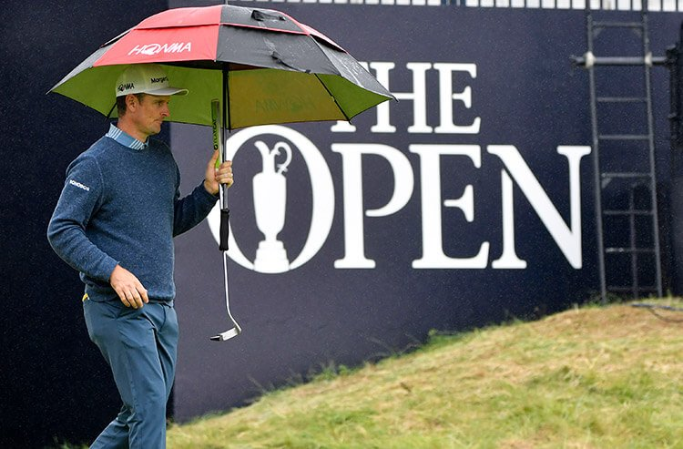 Brooks Koepka remains the favorite in The Open Championship, and Justin Rose's odds continue to tighten.   @Covers_Vegas checks in on the latest British Open action and odds, with insights from Eric Osterman, manager of @SuperBookUSA:  https://t.co/lvAsoUMVeQ https://t.co/Yvcb4krcRf