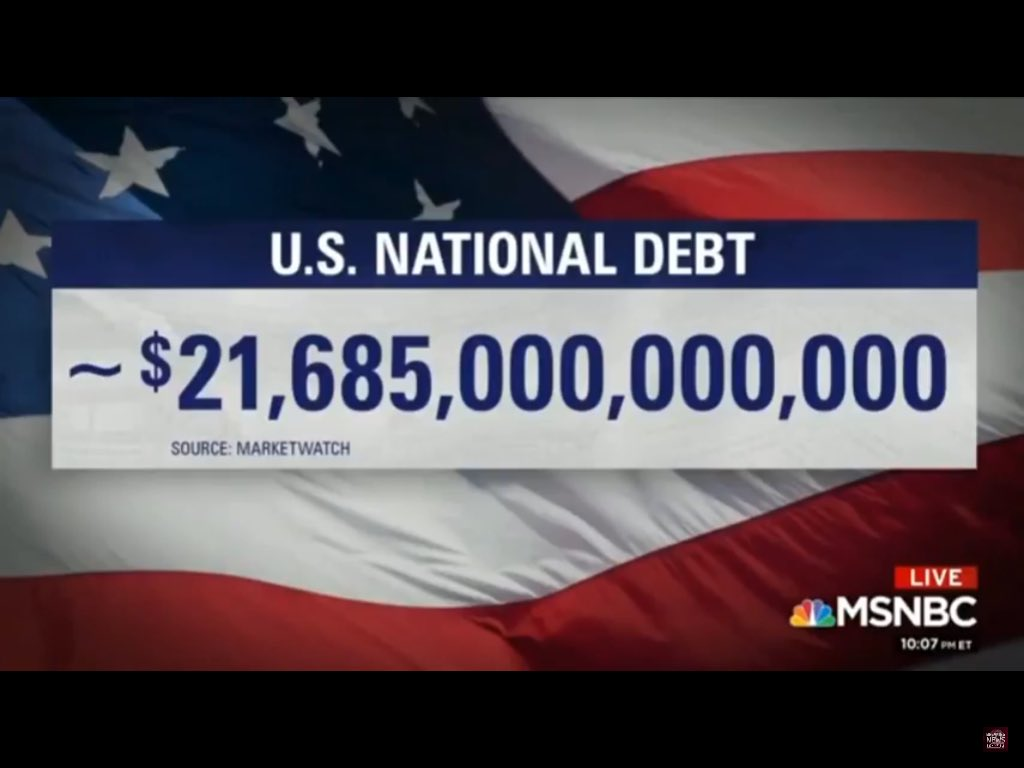 """It's the second half of the #GOPTaxCuts-  """"We don't have any money... we've gotta tighten our belts!"""" Just in time for a debt ceiling showdown.  Tighten our belts INDEED! #RepealAndReplace the GOP Tax Cuts.  Let's make sure we take care of EVERYONE. #EndTheElectoralCollege<br>http://pic.twitter.com/MmdiSA1C0K"""