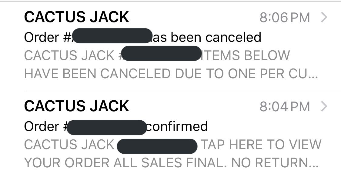 "I waited by my computer all day and only ordered 1 pair and it was cancelled due to ""multiple orders under 1 person"".  I only ordered 1 pair, why was it cancelled @trvisXX <br>http://pic.twitter.com/yLTe1DLG6H"