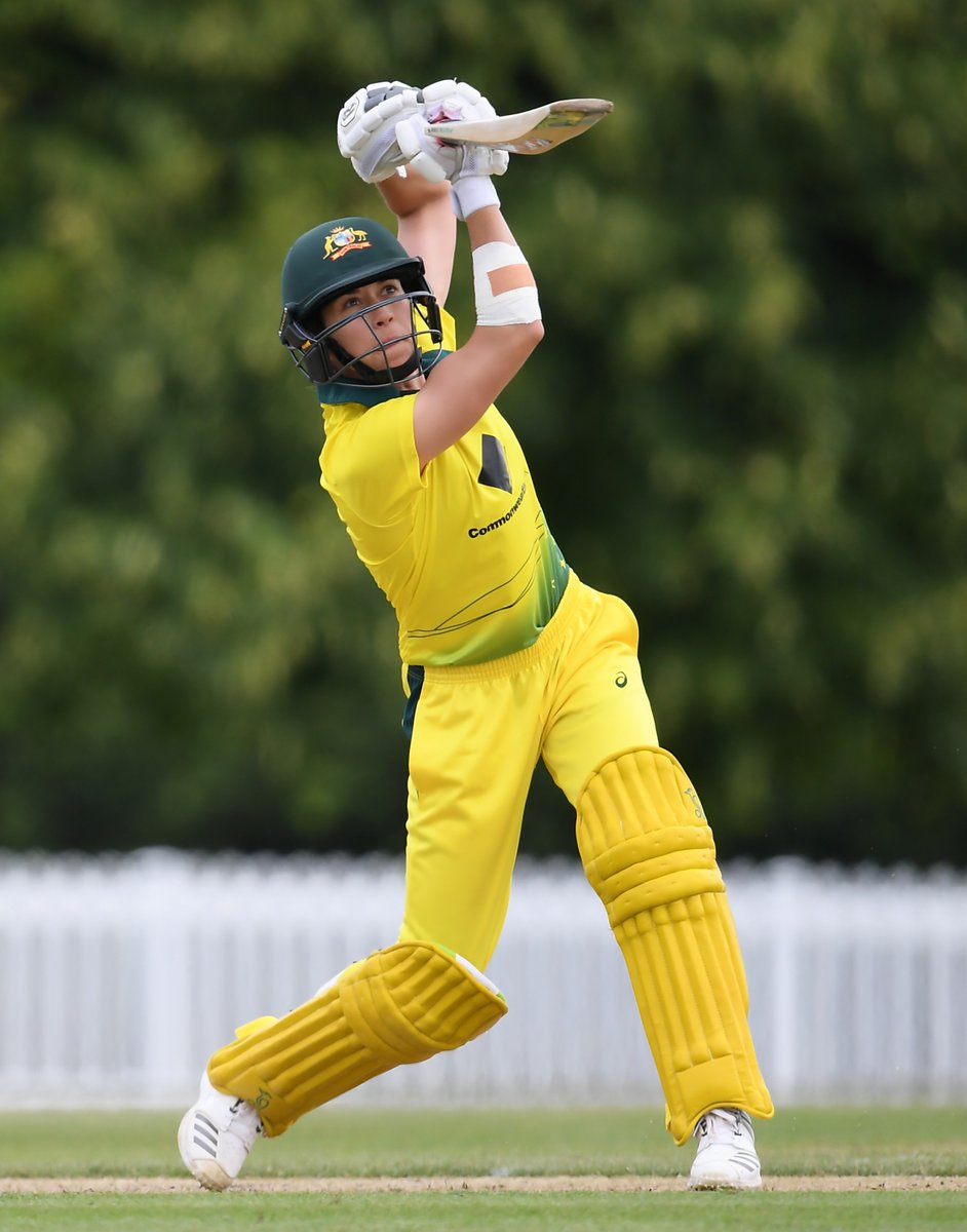 Another good performance by @eaburns88 to complete the Aus A Women's tour of England.  The new Breaker hit 54 from 37 balls in the five-run win over the England Women's Academy overnight. The off-spinner also collected 1-13 opening the bowling.  Scorecard: https://t.co/Nr6DOoOFPC https://t.co/Vsl8Qognf7