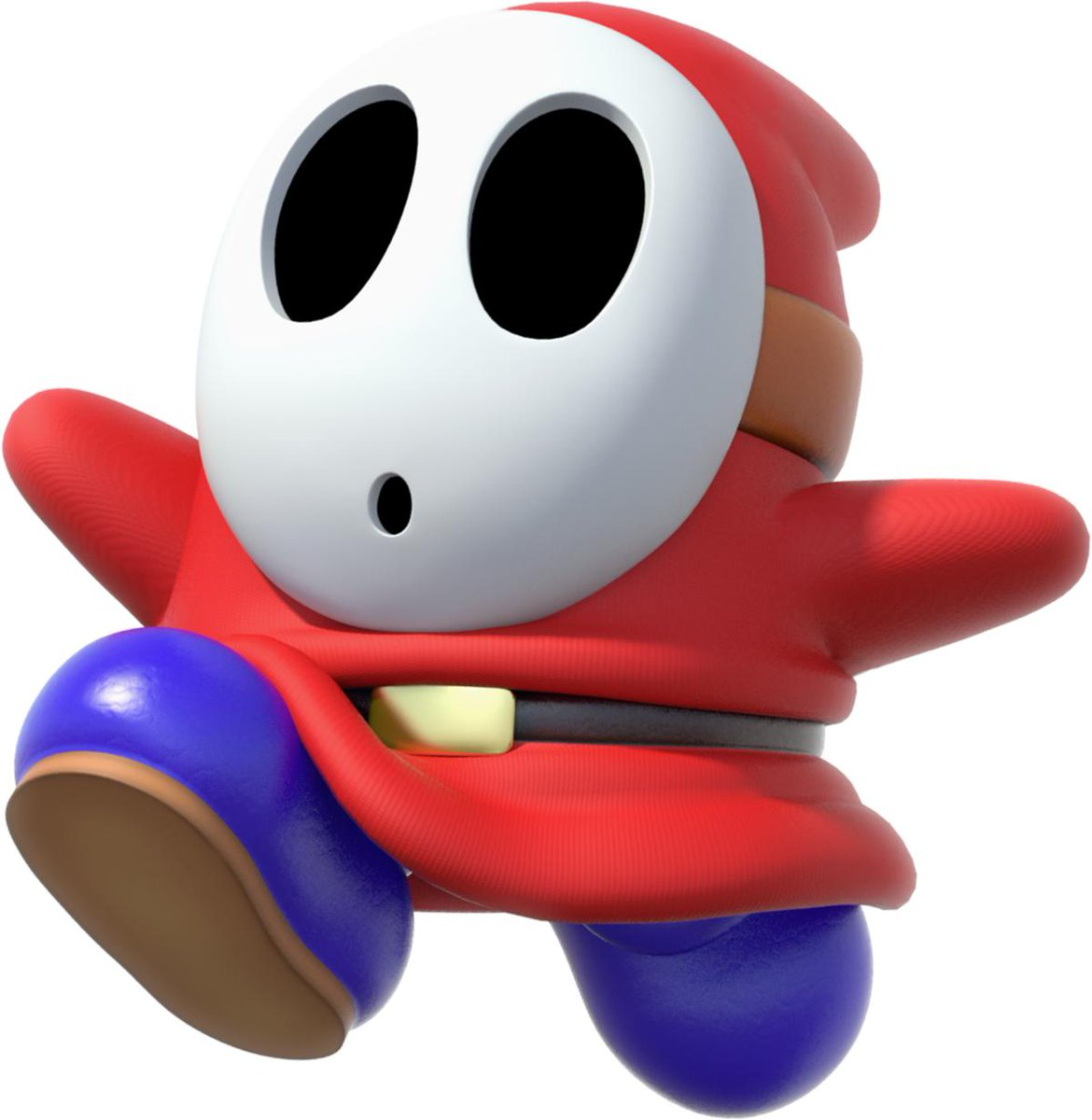 "Fight 6: ""Shy Guy"" vs. ""The Conductor""  Shy Guys are masked enemies seen in many Mario games, beginning with the American version of Super Mario Bros. 2, but not reappearing until Super Mario World 2: Yoshi's Island.  They first appeared in 1987.  #RnR9 @roughnrowdy"