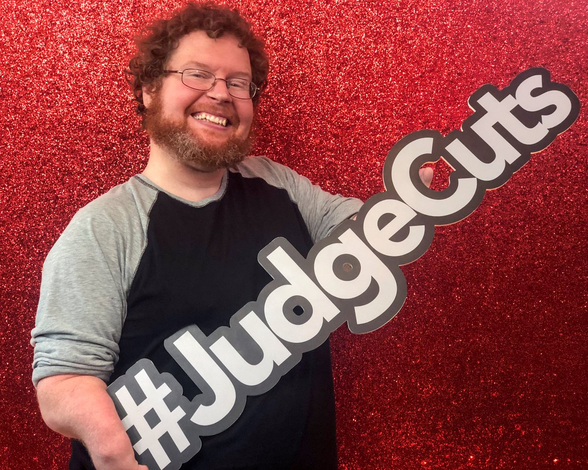 Im back on @agt this Tuesday night for Judge Cuts! Please tune in as holding that sign for this picture was a lot of work. 8/7c @nbc #ClubNubb #agt #cripplethreat #comedy #standup