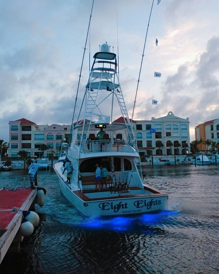 Cap Cana, DR - Eight Eights went 4-7 on Blue Marlin and 1-2 on White Marlin.