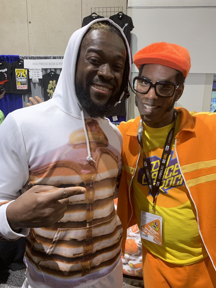 Just met DJ Lance Rock! This has been an awesome Con!  #yogabbagabba #sdcc #SDCC2019