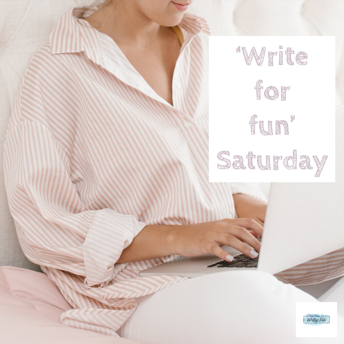 My amazing Writing Tribe has 'Write for Fun' every Saturday.  Join us :-) #writingcommunity #amwriting #WIP https://www.facebook.com/groups/NicolesWritingTribe/…