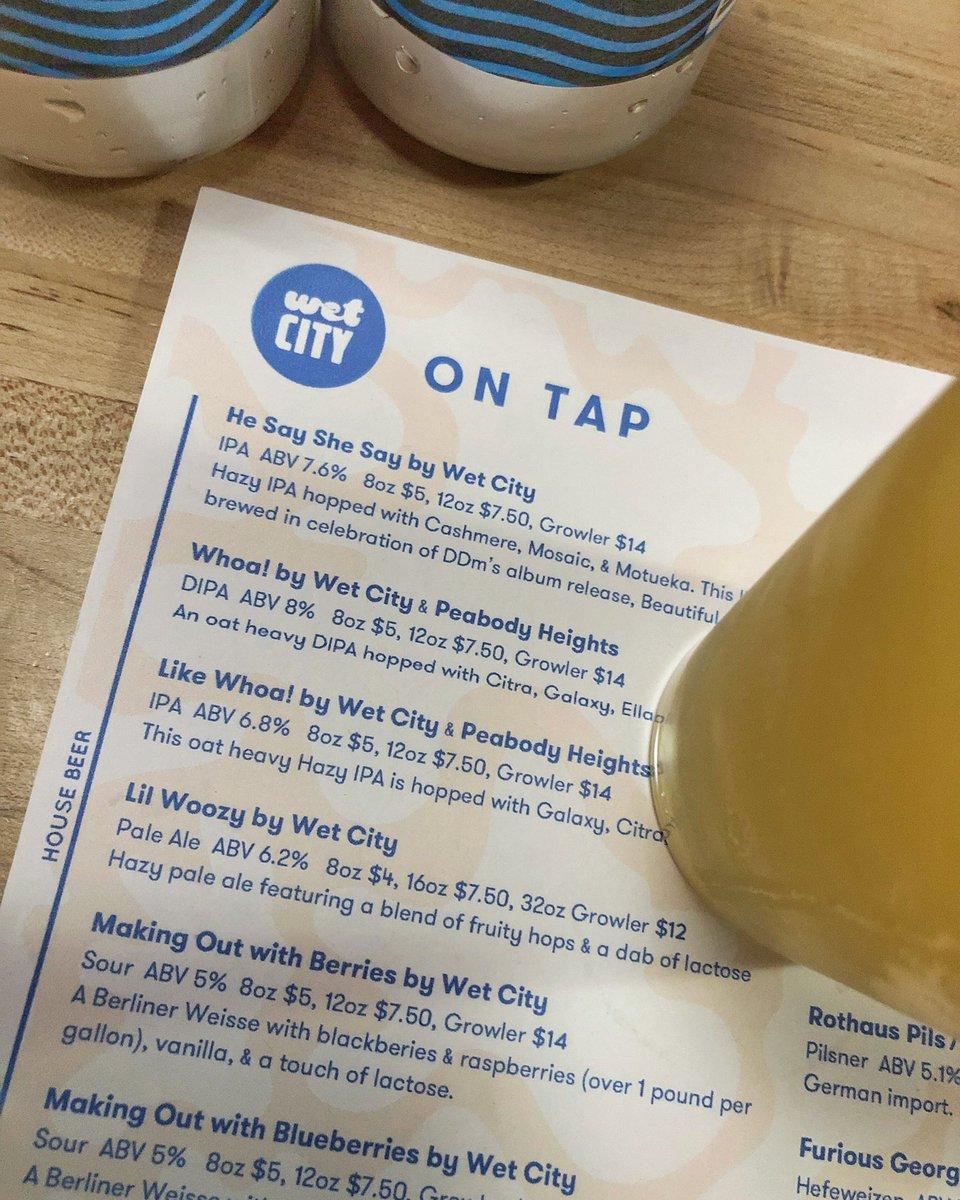 "@peabodyheights x @Wet_City's ""Whoa!"" DIPA  #craftbeer #craftbeerporn #beerporn #ipa #クラフトビール #ビール #beer #cerveja #beergeek #beers #beerlover #instabeer #mdbeer #maryland #hazyipa #neipa #baltimore #dipa #visitmaryland – at Wet City"