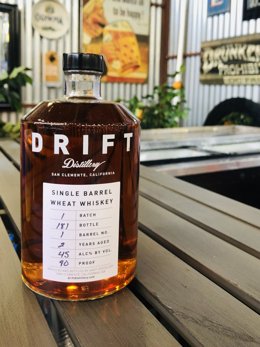 It's time 🥃 for a glass of @DistilleryDrift. Discovered this tasty batch at the @ocfair.... SAY WHAAAT?  #fancypants over here in the Promenade.
