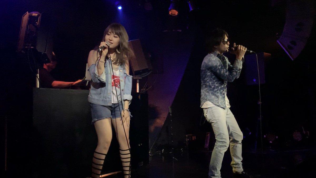 2019/07/19  #2LIPS  #Yuumi (@yupo_yupopo ) #SKOU  (@skou_2lips ) #華金  #渋谷 #Glad  #LIVE #今年初
