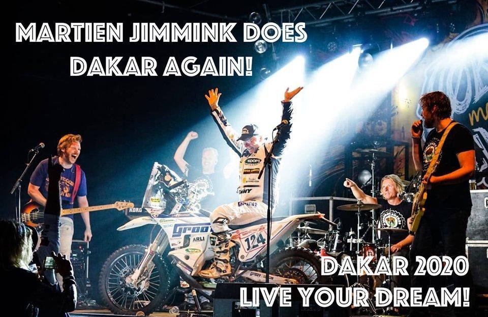 The dream goes on! Martien Jimmink does Dakar again! #Dakar2020 <br>http://pic.twitter.com/JlXrN0SAjG
