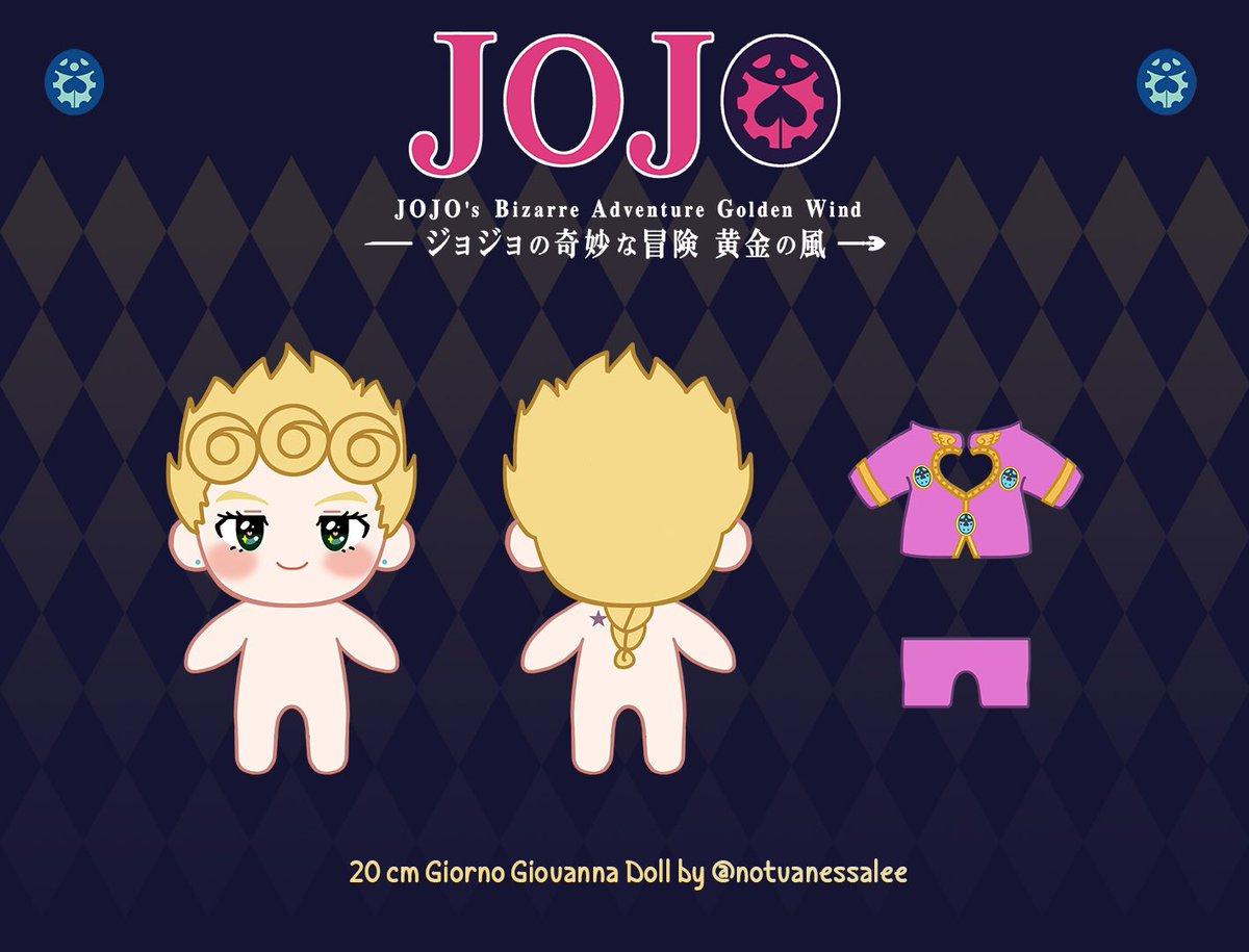 20 cm Giorno Giovanna Doll 🐞   #ジョジョの奇妙な冒険 #ジョジョ #ジョルノ #JJBA #JOJO #VentoAureo #GiornoGiovanna #jojo_anime #jojosbizarreadventure