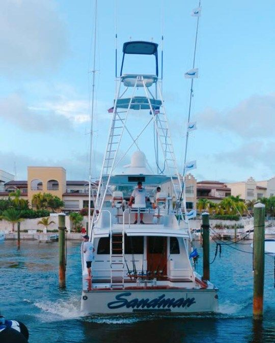 Cap Cana, DR - Sandman went 6-8 on Blue Marlin and 1-2 on White Marlin.