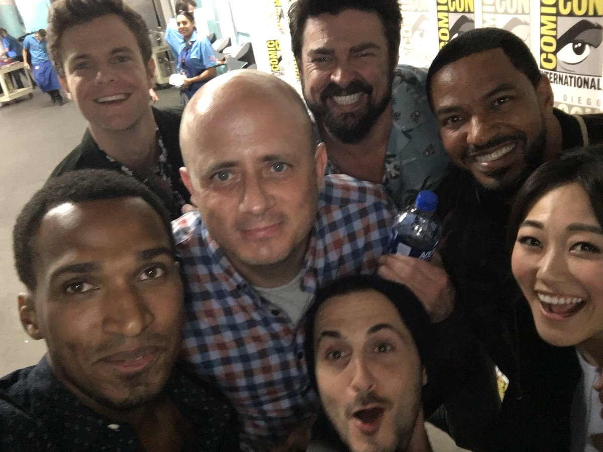 Not gonna lie: little drunk. But watch #TheBoysTV  in ONE FUCKING WEEK. 7/26 on @PrimeVideo.    Also, we've been picked up for season 2, so that shit won't be cancelled on you!   I'm so proud of it, would mean a lot if you RT & WATCHED! #spn #SPNFamily @TheBoysTV <br>http://pic.twitter.com/zFKpjyZGBn