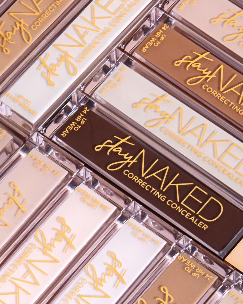 Our 25 shades of Stay Naked Correcting Concealer are available now 👉 bit.ly/2LsvrmR 👈 and because lists are awesome, here's what you need to know: ✔️ vegan formula ✔️ real-skin matte finish ✔️ full coverage that lasts up to 24 hours #StayNaked #UrbanDecay