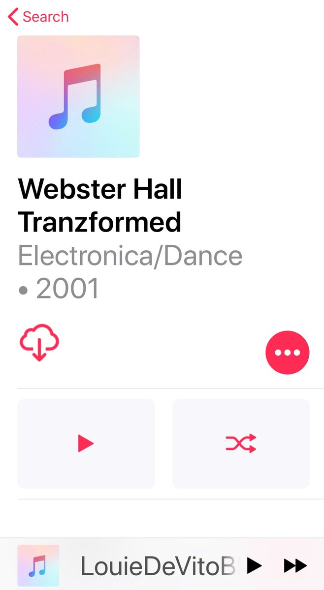 Yup...saved the Webster Hall Tranzformed CD to my MP3 for a lifetime of plays. Great disc. And look who's older  #BPM mix is currently paused on my MP3 @LouieDeVito  Typical for me! I  & he is my fav DJ<br>http://pic.twitter.com/5SnVBmAoad