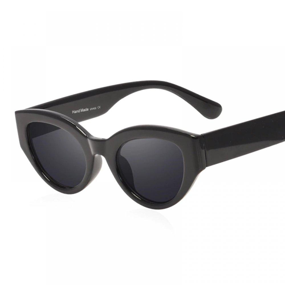 #fashion #style Women's Vintage Cat Eyes Shaped Black Sunglasses